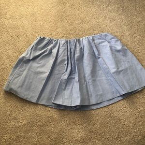 Zara light blue skort sz m